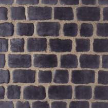 Pavés Courtstone Natural largeur 12,9 x longueur variable x 5,8 cm couleur Basalt, la palette de 5,465 M2