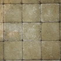 Pavés tambourisés 10 x 10 x 5 cm Tégula couleur Blanco, la palette de 15,36 M2