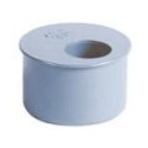 Tampon de réduction simple batiment PVC, DN 125/100