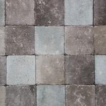 Pavés tambourisés 15 x 15 x 5 cm Tégula couleur Stockolm, la palette de 13,5 M2