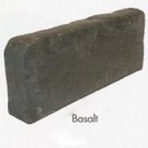 Bordure Courtstone hauteur 20 cm épaisseur 8 cm longueur 50 cm couleur Basalt, l'unité