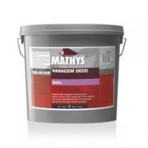 Peinture acrylique Paracem Deco Satin Mathys blanc, 4 litres