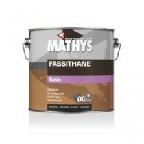 Vernis pour bois Fassithane satin Mathys transparent, 2,5 litres