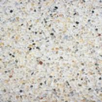 Dalle Stradal gravillon lavé 50 x 50 x 5 cm gros gravillons blancs sur fond blanc ref 120, la palette de 10 M2