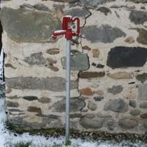 Robinet extérieur antigel Anyflow, hauteur totale 1,74 m