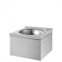 Lave-mains Seul Genou Sans Dosseret en Inox Poli Satiné Delabie 181310