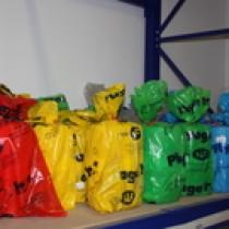 Grillage avertisseur jaune largeur 30 cm en rouleau de 100 ml, le rouleau