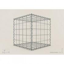 Gabion Cubique 50x50x50 - fil 4 mm - maille 10x10 cm
