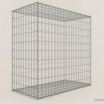 Gabion Cubique 100x100x50 - fil 4 mm - maille 5x5 cm