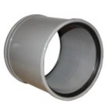 Manchon PVC assainissement à joint DN 125, l'unité