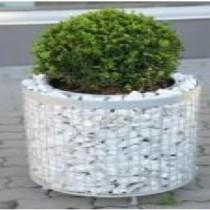 Gabion Cylindrique pour plantation - haut 28 cm - diam 28 cm