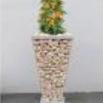 Gabion Trapèze pour plantation - 61,5x30,8x30,8 cm