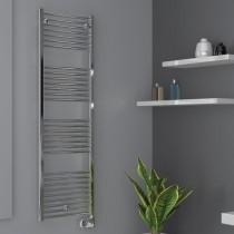 Radiateur sèche serviette eau chaude Cordivari Lisa2, 653W chromé