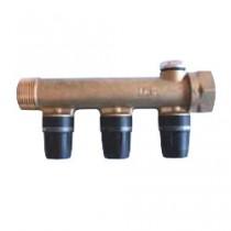 Collecteur multicouche TECElogo chauffage composable MF 3 sorties 16mm