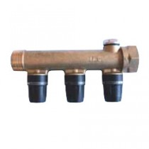 Collecteur multicouche TECElogo chauffage composable MF 2 sorties 16mm