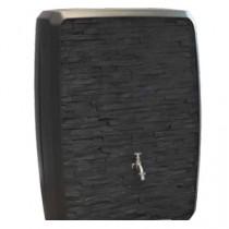 Cuve récupérateur eau de pluie SOTRALENTZ, anthracite 300l