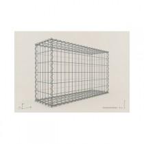 Gabion Rectangulaire 100x60x30 - fil 4 mm - maille 10x10 cm