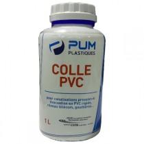 Colle pour PVC batiment en pot de 1 litre, le pot