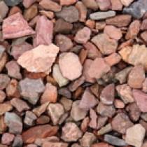 Schiste rouge 5/15 ou 6/20 en sacs de 35 Kg, en palette de 40 sacs