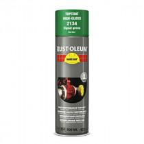 Peinture de Retouche Top Coat Rust-Oleum Vert De Securite Aérosol 500 ml