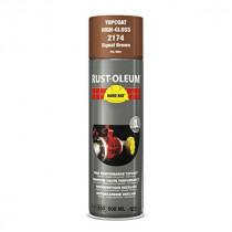Peinture de Retouche Top Coat Rust-Oleum Brun Aérosol 500 ml