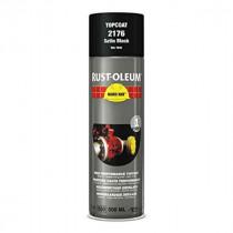 Peinture de Retouche Top Coat Rust-Oleum Noir Satine Aérosol 500 ml