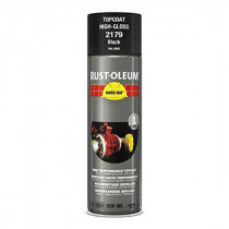 Peinture de Retouche Top Coat Rust-Oleum Noir Aérosol 500 ml