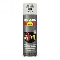 Peinture de Retouche Top Coat Rust-Oleum Gris Perle Aérosol 500 ml