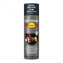 Peinture de Retouche Top Coat Rust-Oleum Gris Anthracite Aérosol 500ml