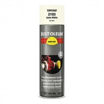 Peinture de Retouche Top Coat Rust-Oleum Blanc Satine Aérosol 500 ml