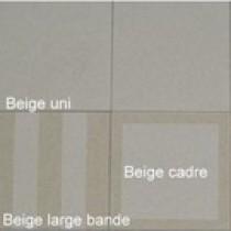 Dalle Marlux Lignardina 40 x 40 x 3,6 cm couleur Beige fine bande, le M2