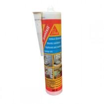 Mastic silicone SIKA SANISIL Blanc anti-moisissures carton 12x300 ml