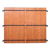 Porte de garage battante 2 vantaux en sapin 200x240cm