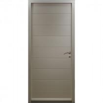Porte d'entrée Bois prépeint Béa, 215x90cm, poussant gauche