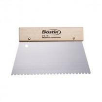 Spatule métal à colle Bostik n°4 Parquet massif/contrecollé