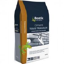 Ciment Tous Travaux Gris Bostik Sol et Mur Intérieur/Extérieur 10 kg