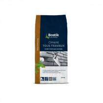 Ciment Tous Travaux Gris Bostik Sol et Mur Intérieur/Extérieur 2,5 kg