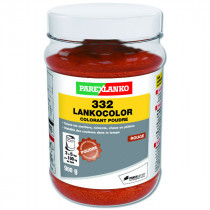 Colorant Rouge 332 Lankocolor Mortiers Ciments ParexLanko, 900 g