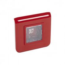 Dispositif Visuel d'Alarme Feu LED URA 2cd Rouge Pose Encastrée 367300