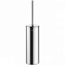 Brosse WC avec Couvercle Delabie Inox Poli Brillant 4051P