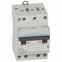 Disjoncteur Legrand DNX³4500 6kA Tétra 400V~ 10A Courbe C Vis 406908