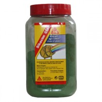 Colorant vert Sikacim Color en poudre, la dose de 900 gr