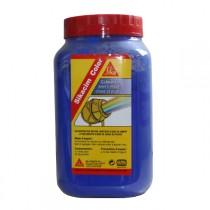 Colorant bleu Sikacim Color en poudre, la dose de 700 gr