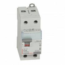 Interrupteur Différentiel Legrand DX³-ID 2P 230V~ 63A typeAC 411506