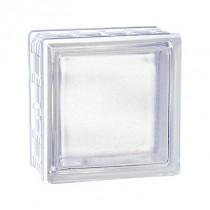 Brique de verre incolore Cubiver 19.8x 9.8x8 cm aspect satiné, par 5 U