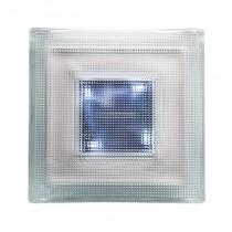 Pavé lumineux LUMI-SOL LED photovoltaïque ,Lot de 2