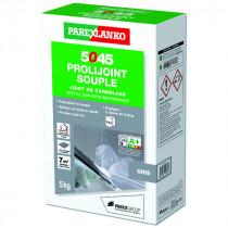 Mortier Joint Souple Mur & Sol 5045 Prolijoint Souple Gris, 5 kg