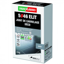 Mortier joints de Carrelage Déco 5046 Elit ParexLanko, 5 kg