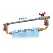 """By-pass 3/4""""pour station filtre Jetly Duplex Biplex et Duo, ref 494350"""