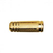 Fixation en laiton pour vis métrique 6 x 22 mm Fischer, boîte de 100
